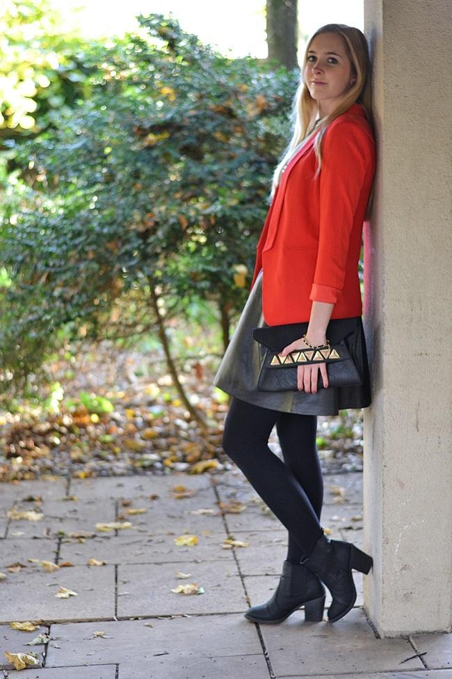 Outfit der rote Blazer (3)