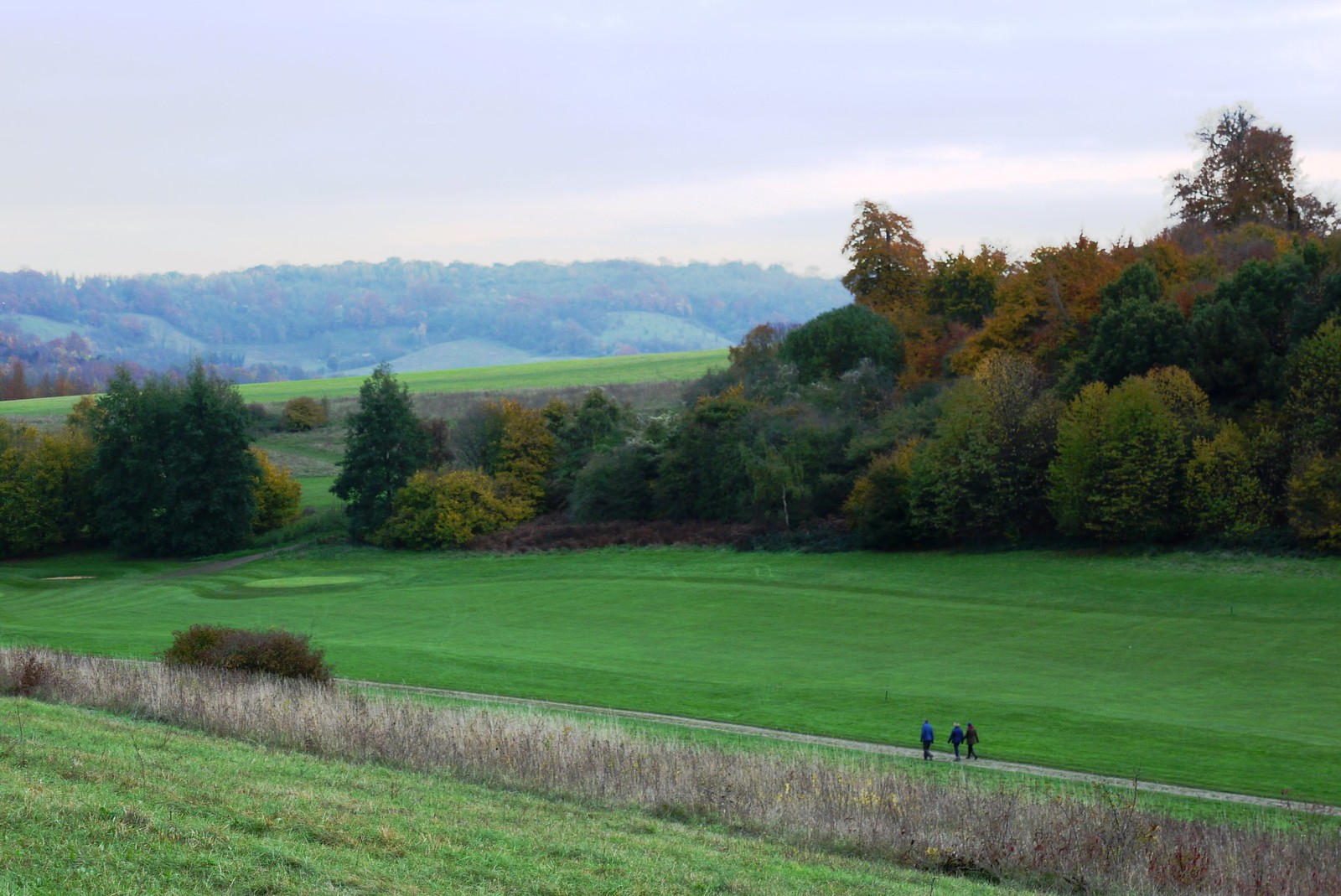 Lullingstone Park Golf Course Otford to Eynsford