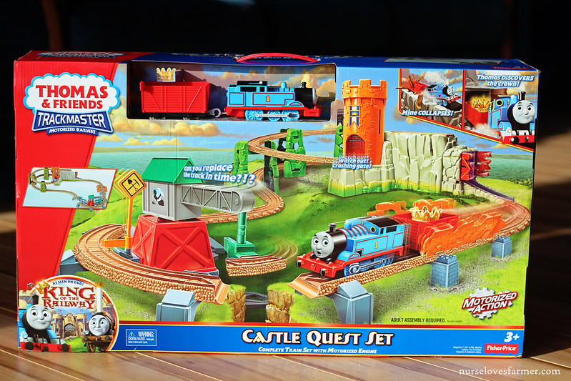 Mattel Hot Holiday Toy - Thomas & Friends Trackmaster