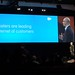 Scott Dorsey giving the Marketing Cloud Keynote -- The Internet of Customers