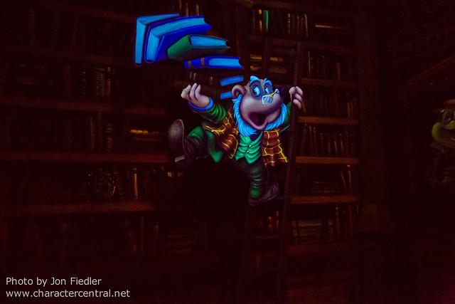 Disneyland Dec 2012 - Mr. Toad's Wild Ride