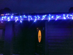 LED icicles making their debut...