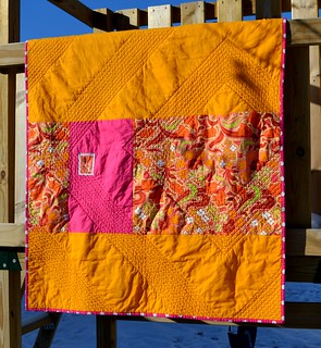 string/HST WISH quilt back