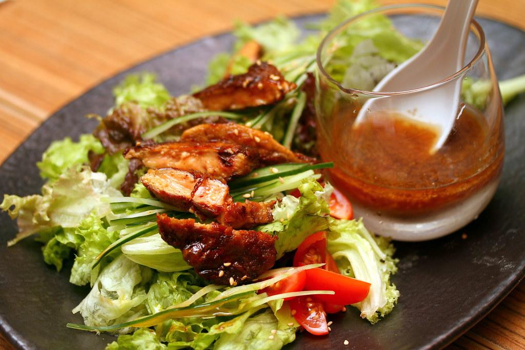 Chikuwa Tei: foie gras salad