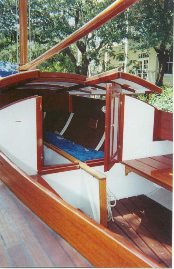 Golant gaffer or cape cutter 19 in southern uk for Garden design troller boat