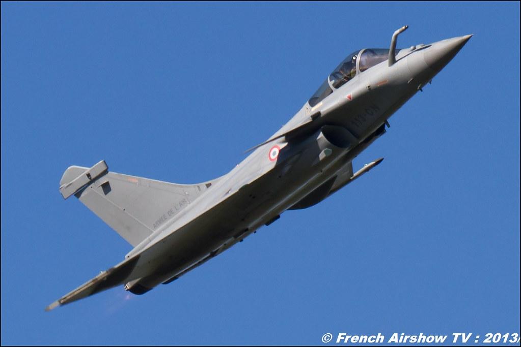 Rafale Solo Display 2013 ,60 ans Patrouille de France , Meeting Aerien 2013