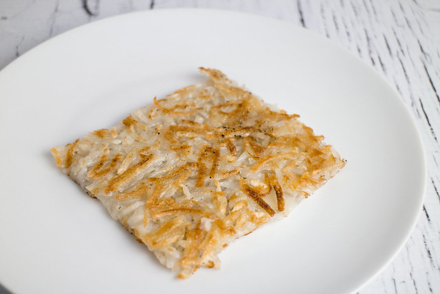 Easy to make delicious Crispy Hash Browns! Perfect for breakfast and dinner!