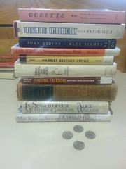 All these books cost me a total of four quarters.......