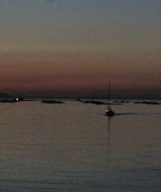 Boat alone