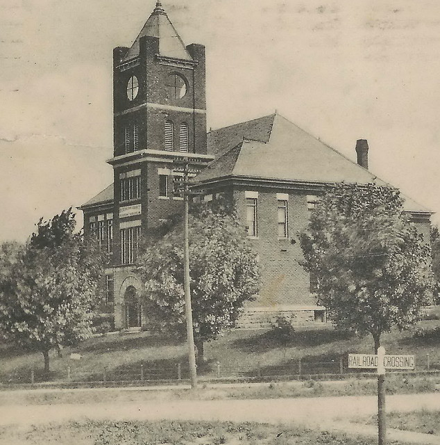Up Iron Mountain Mi 1912 Dickinson County Court House And