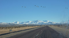 Sur la route de Las Leñas