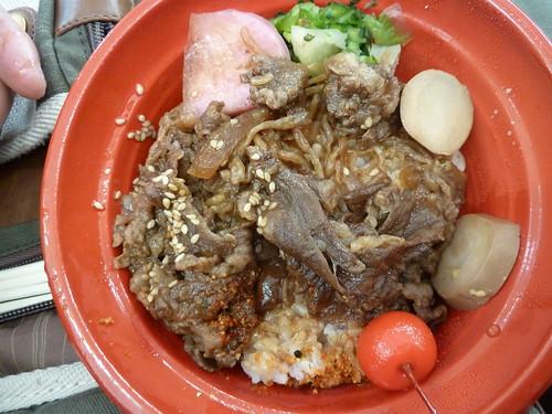 米沢牛丼@ふるさと祭り 東京