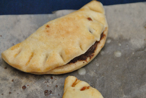 chocolate nuttella hand pie
