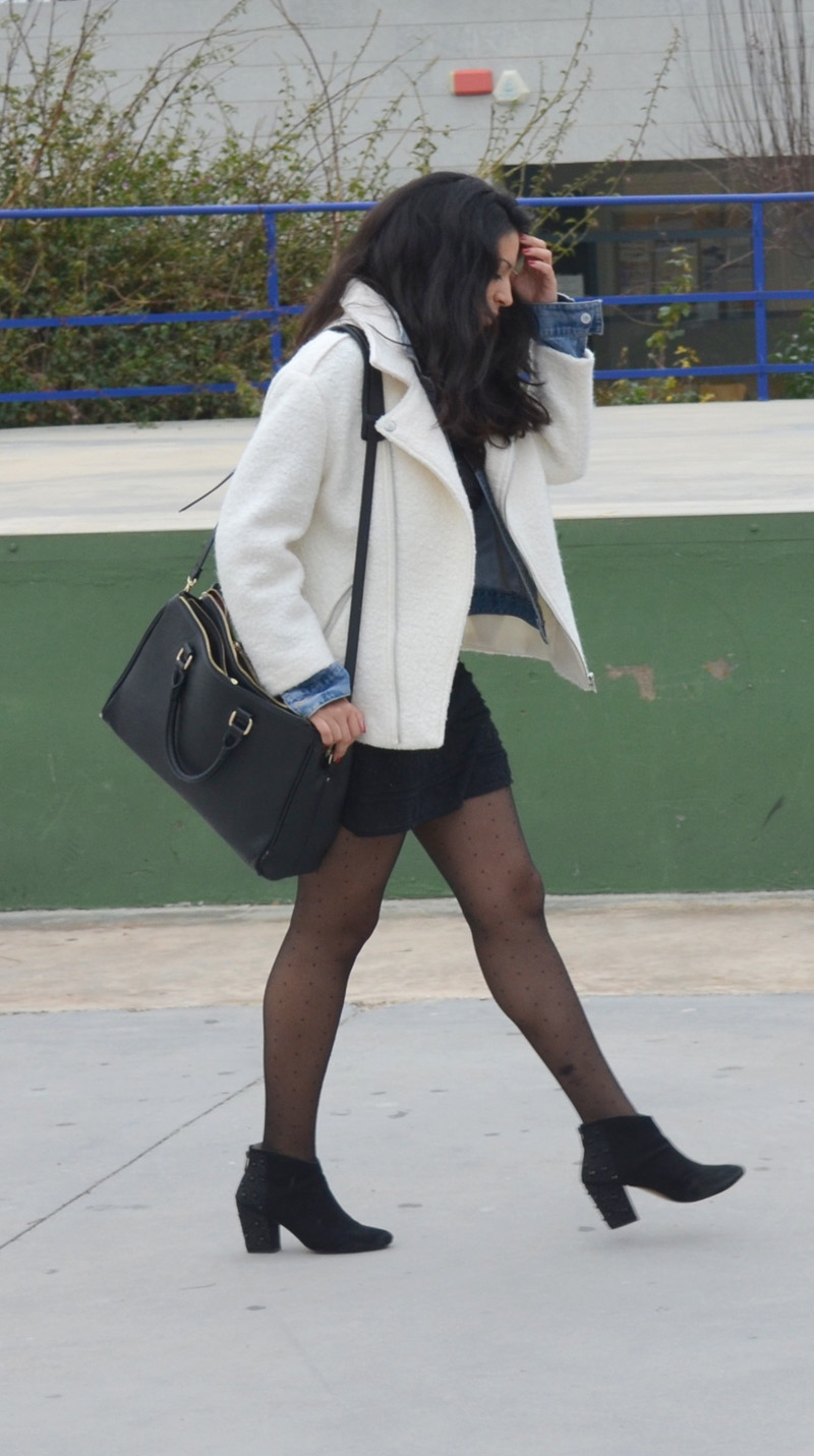 chaqueta beig medias de punto florencia blog