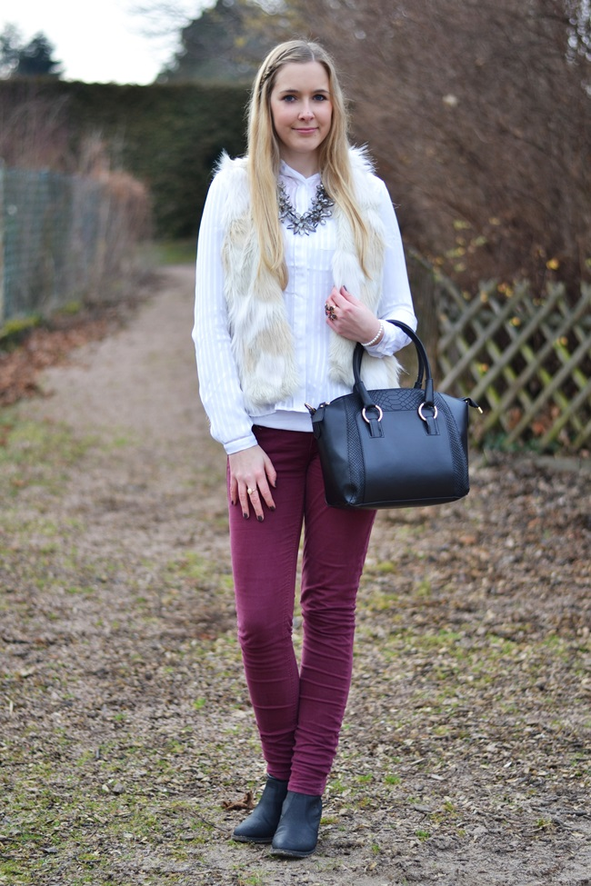 Outfit Fake Fur Weste (8)