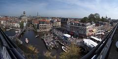 Panorama van Leiden