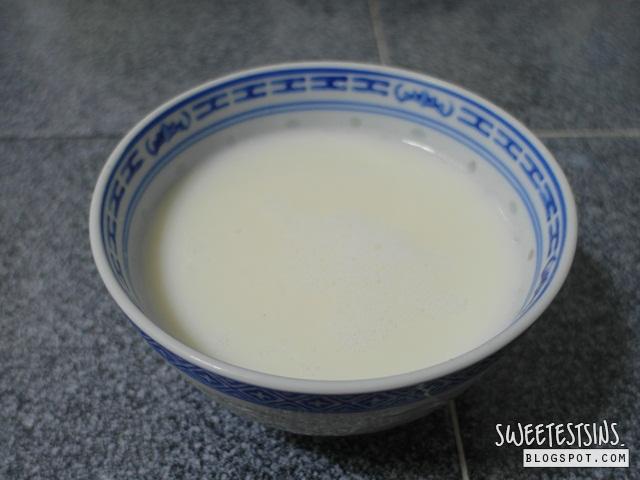 steamed egg white milk pudding recipe 鮮奶燉蛋食谱 (10)