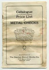Dayton Stencil Works price list