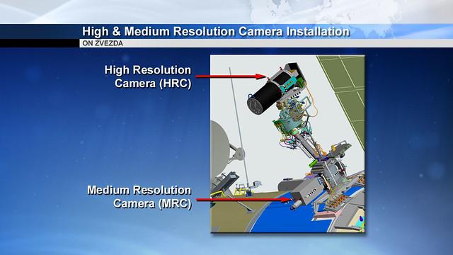 02 - High & Medium Resolution Camera Installation