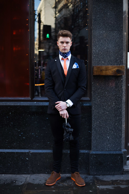 Street Style - Joey, London Collections: Men
