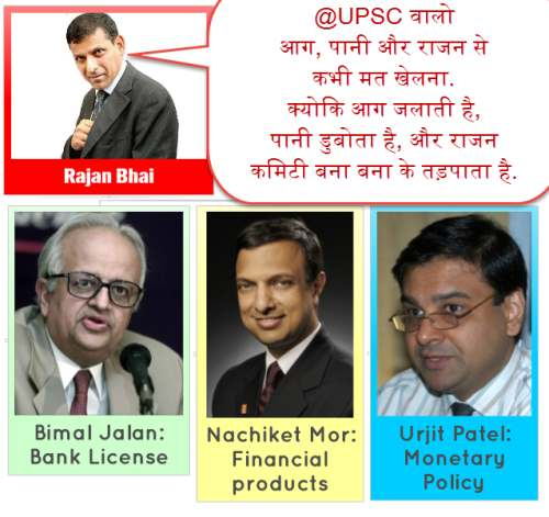 RBI Committees 2013-14 monetary policy reform