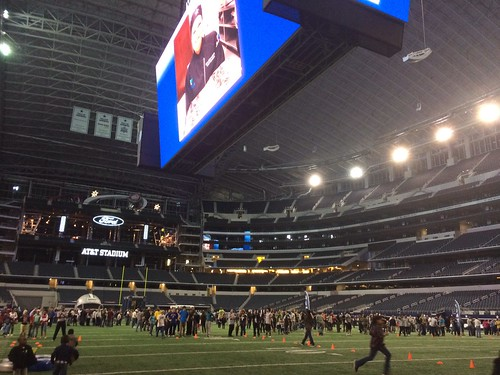 Employee appreciation night at cowboys Stadium