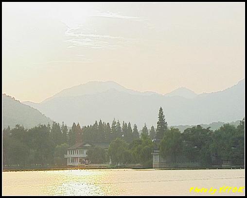 杭州 西湖 (其他景點) - 291 (在西湖十景之 蘇堤 看西裡湖及西湖十景之 花港觀魚)