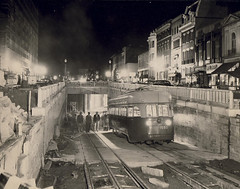 1949 Dupont underground nearing end of construction