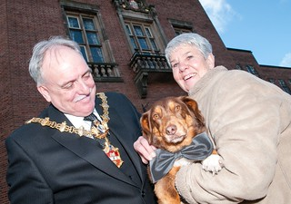You'd be barking not to have a ball with the Mayor of Dudley