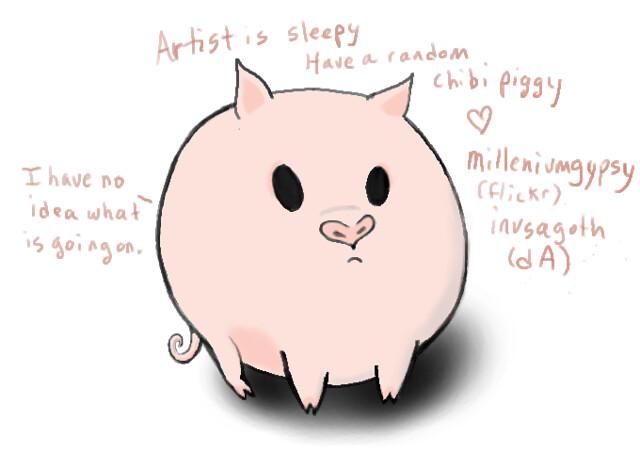 chibi piggy