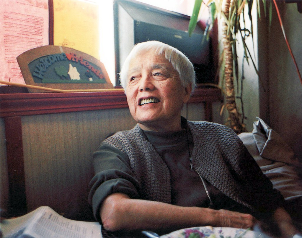A portrait of Grace Lee Boggs