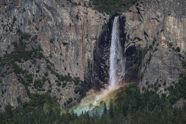 Bridalveil Falls, Yosemite, California