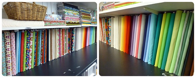 Fabric in class Collage