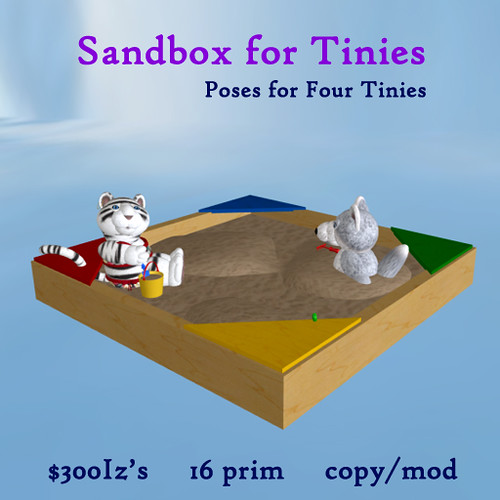 Sandbox for Tinies by Teal Freenote