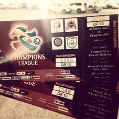 AFC Champions League.. #afc #championsleague #football #stadium #ticket #qatar #esteghlal #alrayyan #doha #footballmatch #followback #followme #iran #iranian #persian #followbackeveryone #night #esteghlalfc