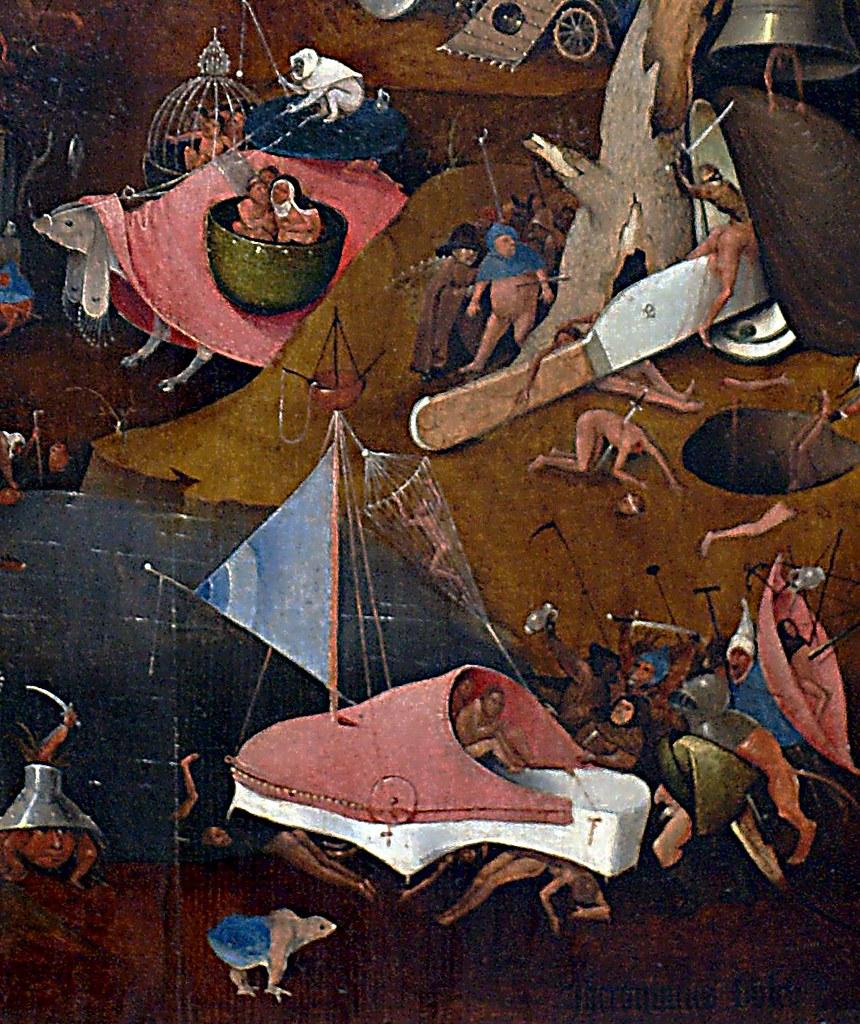 Hieronymus Bosch Und Werkstatt Das Jüngste Gericht Detai Flickr