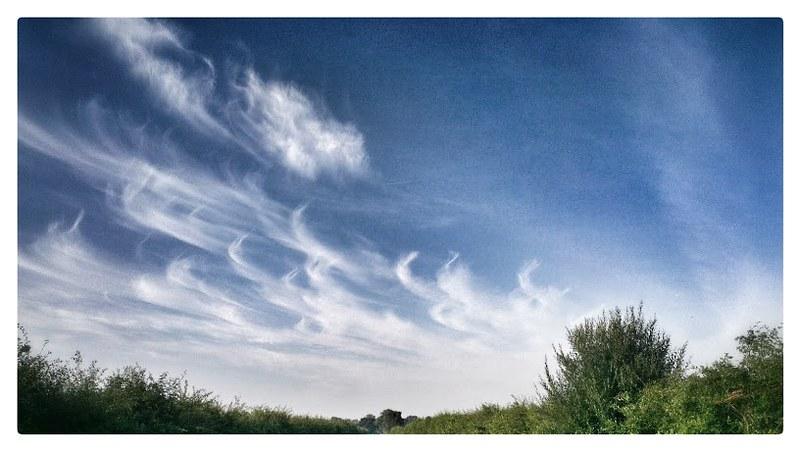 Sky near home