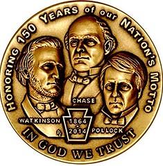 National Motto medal obverse