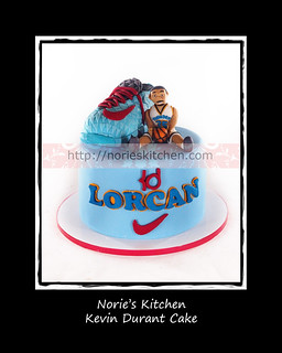 Norie's Kitchen - Kevin Durant Shoe Cake