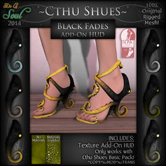2014 CthuShues - ADD-ON Black Fades