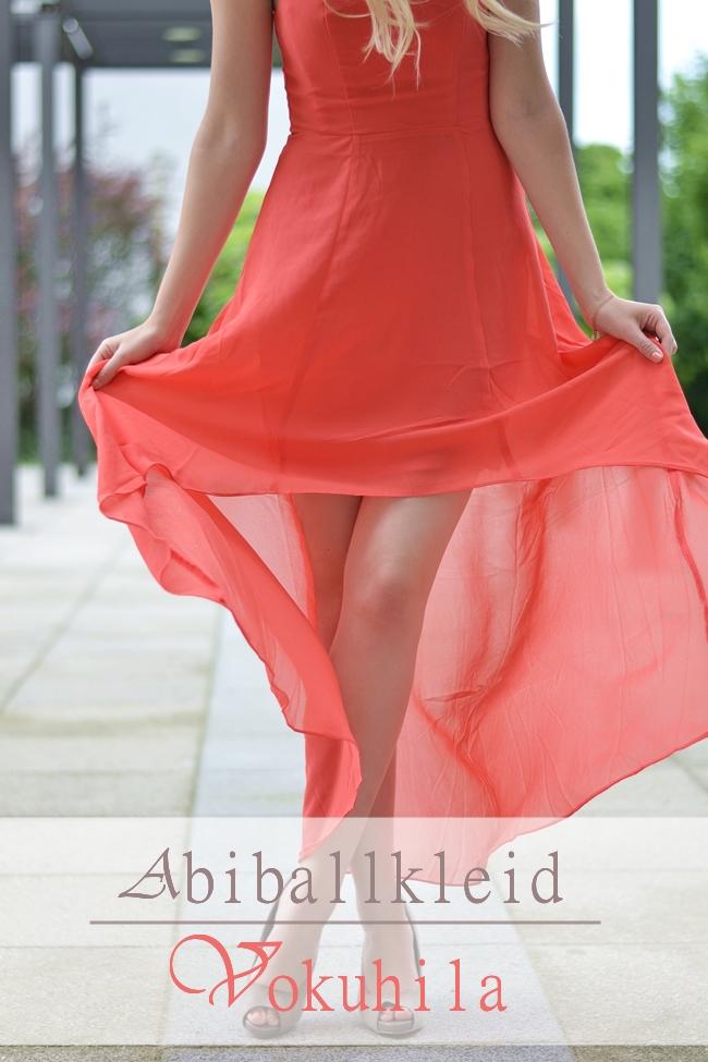Outfit Abiballkleid Vokuhila Banner