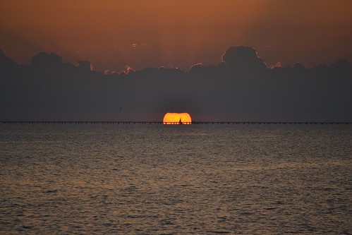 009 Lake Pontchartrain Sunset