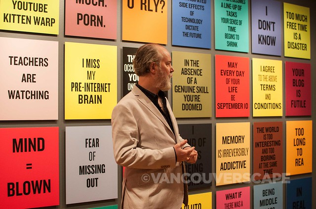 Douglas Coupland at VAG-10