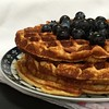 Quark Waffles with Seasonal Fruit
