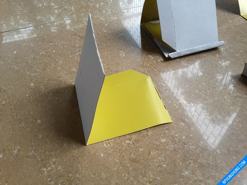 Thêm 1 lớp gia cố cho khối tam giác
