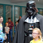 Darth Vader at Preston Comic Con