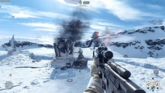 Star Wars: Battlefront 4K screens showcase the pale beauty of Hoth