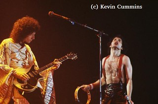 Queen live @ Stafford - 1978