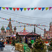 Fair on the Red Square in Moscow