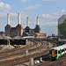 Battersea Power Station and the lines to/from Victoria